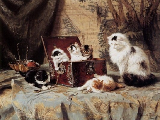 fond of jewelry by henriette ronner knip 24616