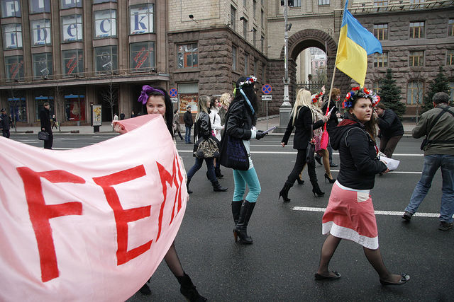 FEMEN Patrol New Season Start d9edd