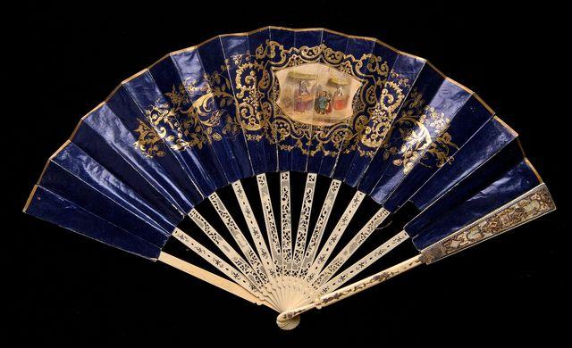1840 1859 eugene andrc3a9 fan via met museum a6908