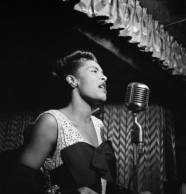 Billie Holiday Downbeat New York N.Y. ca. Feb. 1947 William P. Gottlieb 04251 77ba5