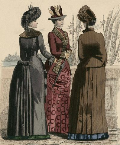 Journal des Demoiselle Womens Fashion 1883 via Met Museum df1b9