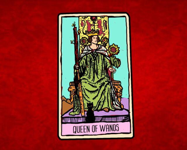Queen of Wands Tarot 5f566