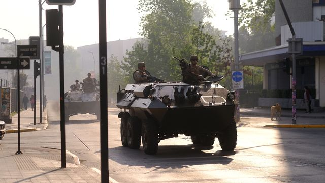chile military tank c7363