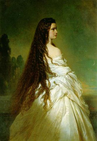 empress elisabeth of austria by franz xaver winterhalter 1864 2 b535c
