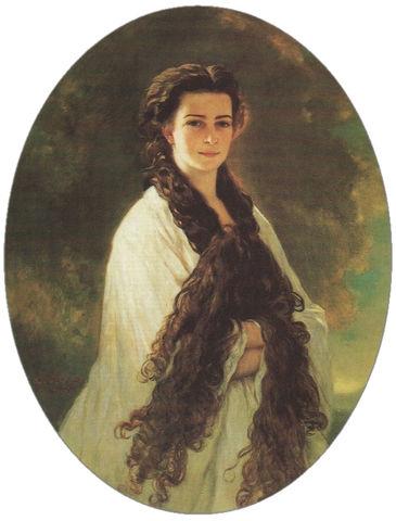 empress elisabeth of austria by franz xaver winterhalter 1864 84e43