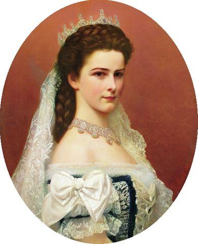 empress elisabeth of austria by georg raab 1867 67e03