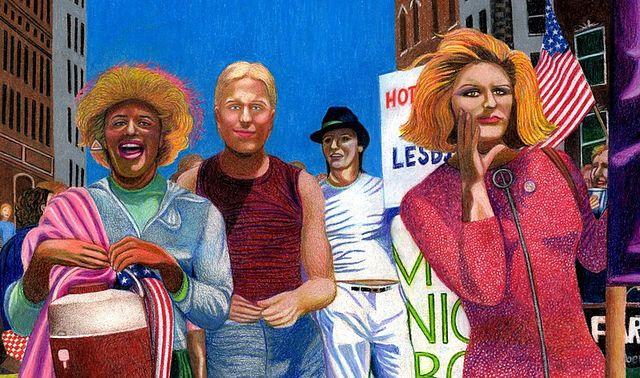 gay pride parade art 61fb2