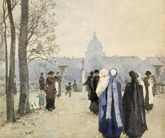 stroll in the park by aleksander gierymski 1891 18932 7c508