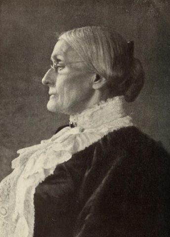 Portrait of Susan B. Anthony 413d8
