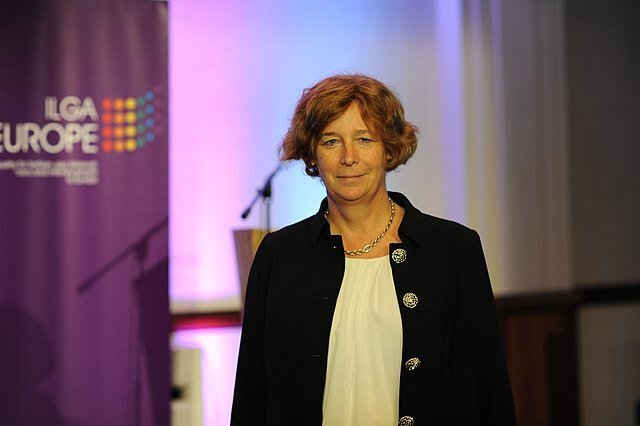 640px Petra de Sutter at ILGA conference 2018 Political Town Hall 06 405f3