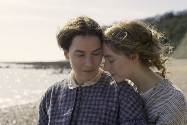 Kate Winslet Saoirse Ronan 2 Ammonite courtesyNEON bd02d