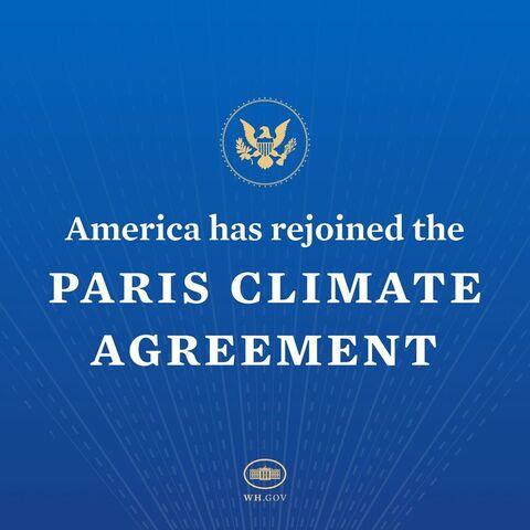 IG announcement of US rejoining Paris Agreement 79d5d
