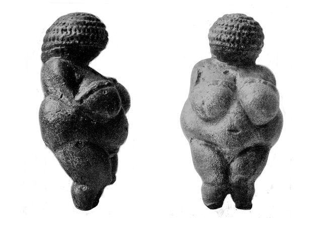 A female Paleolithic figurine Venus of Willendorf Wellcome M0000440 510b2