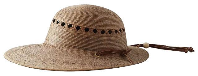 Anthropologie Lattice Palm Hat 848d8