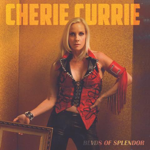 cherie-currie-album-cover-blvds-of-splendor-by-Robert-Sebree