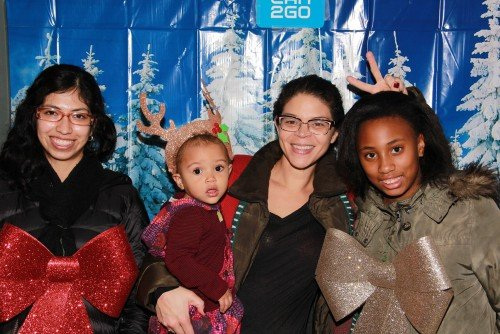 car2go Ugly Sweater Photo Booth at BUST Holiday Craftacular 2014