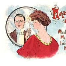 vintage halloween postcards OSHAWA ARCHIVE 5a420