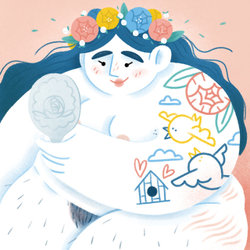 BUST Magazine Illustration Camille Lagoarde
