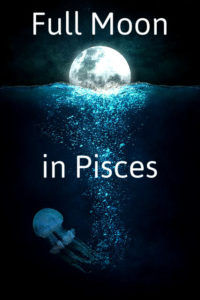 moon, water, mystical