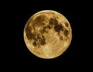 full moon, moon, night