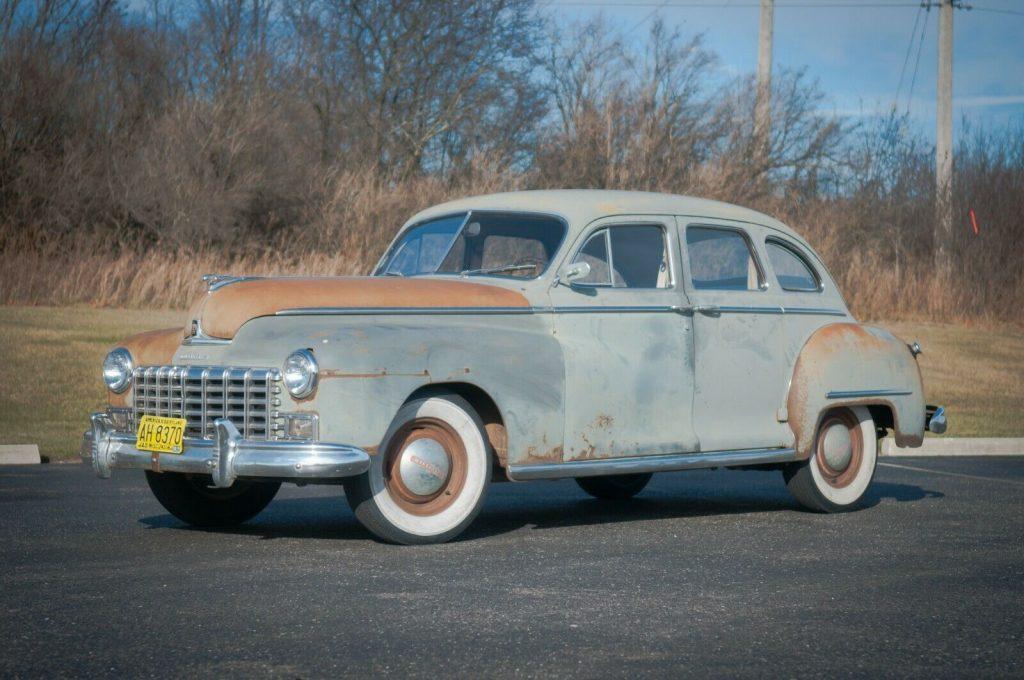 1947 Dodge D-24, 4 door sedan
