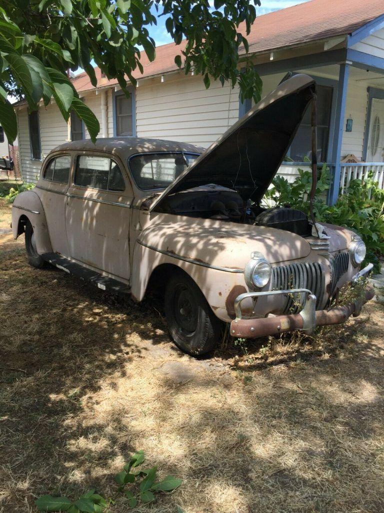 1941 Desoto Custom Club Coupe