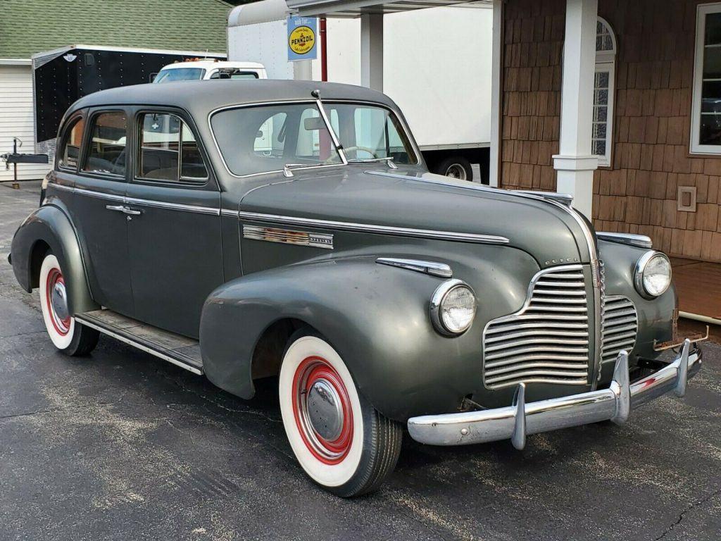 1940 Buick Special 4 Door Sedan