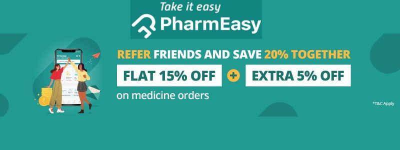 Refer Friends and save 20% OFF on medicine orders