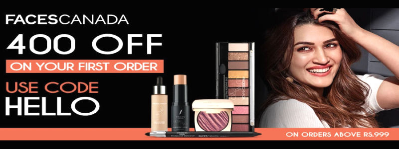Flat Rs.400 OFF on your First Order