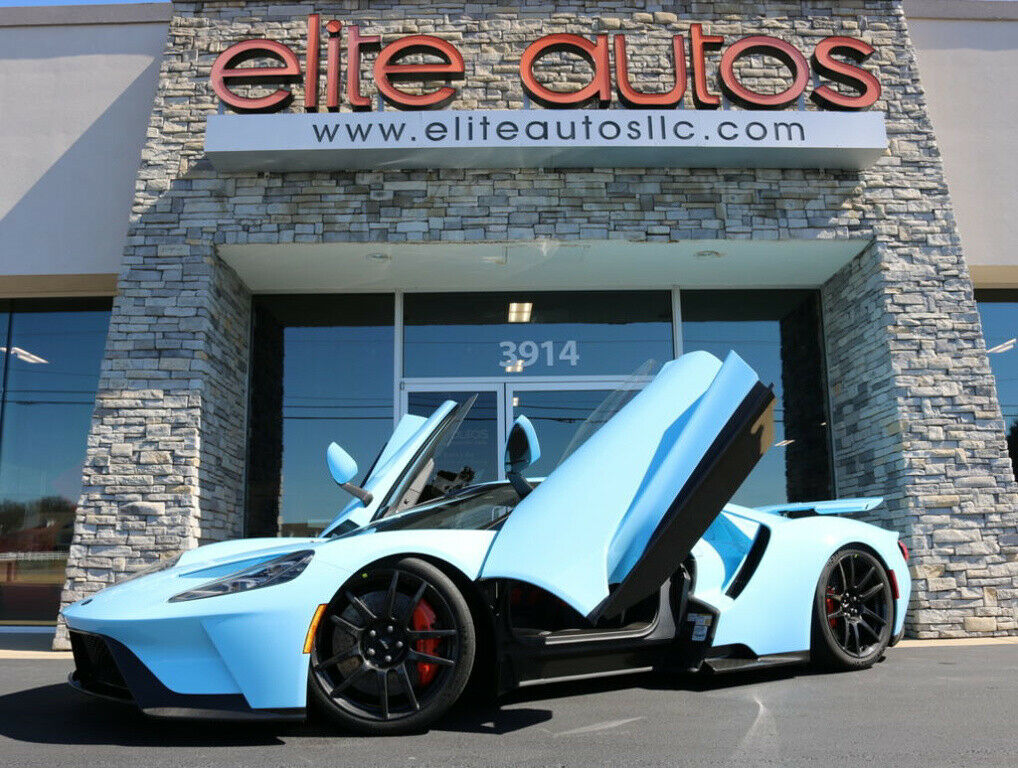 2018 Ford GT Supercar, Special Order GULF BLUE