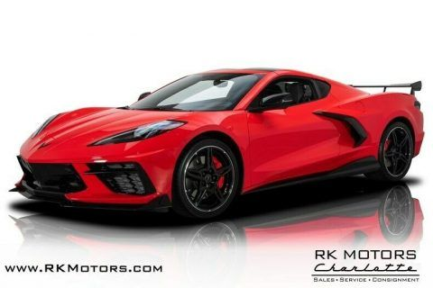 2020 Chevrolet Corvette Torch Red Coupe for sale