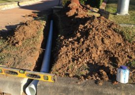 storm water pipe replacement