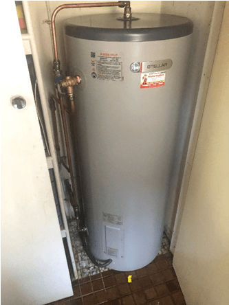 New Hot Water System