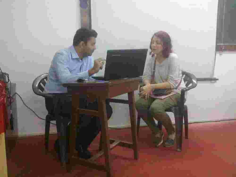 Amit Chilka in a Counselling session 2