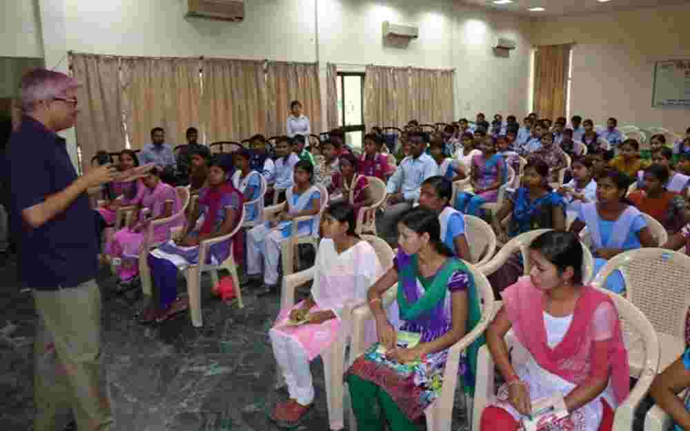 Dr. Jawahar in a Counselling session 3