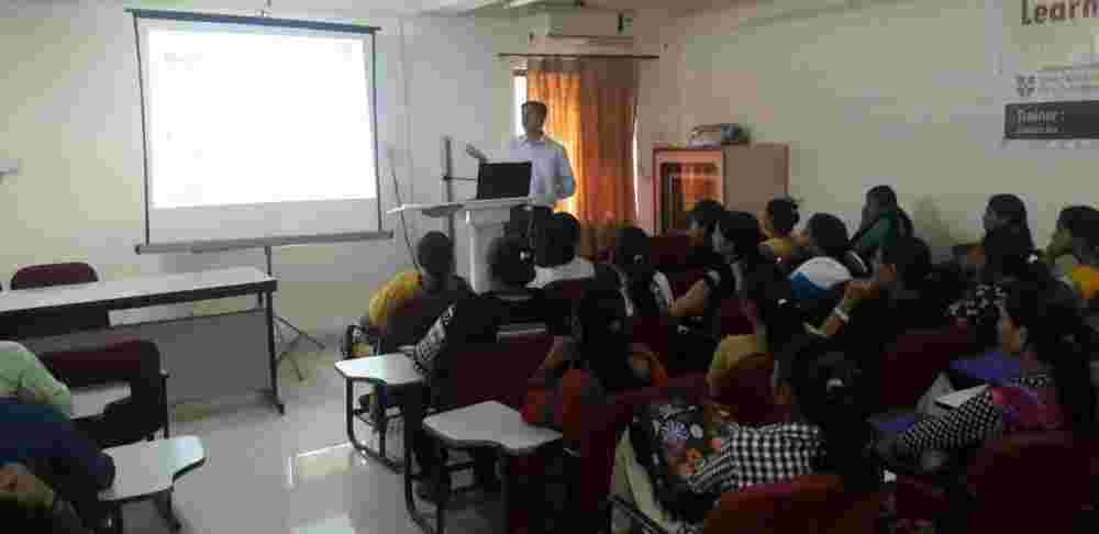 Dr. Vishal in a Counselling session