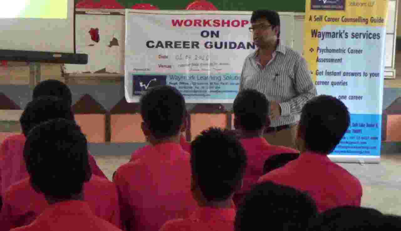Career Counselling Session In The Rural Area of Tripura