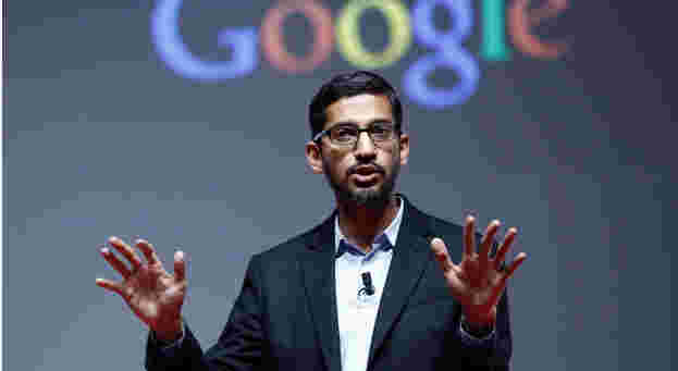 """It is always good to work with people who make you feel insecure about yourself. That way, you will constantly keep pushing your limits."" — Sundar Pichai"