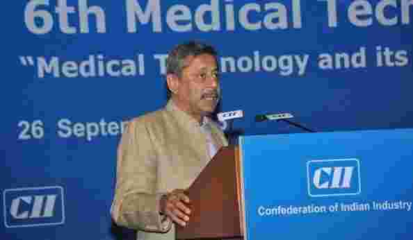 Dr. Trehan at the 6th Medical Technology Conference at CII