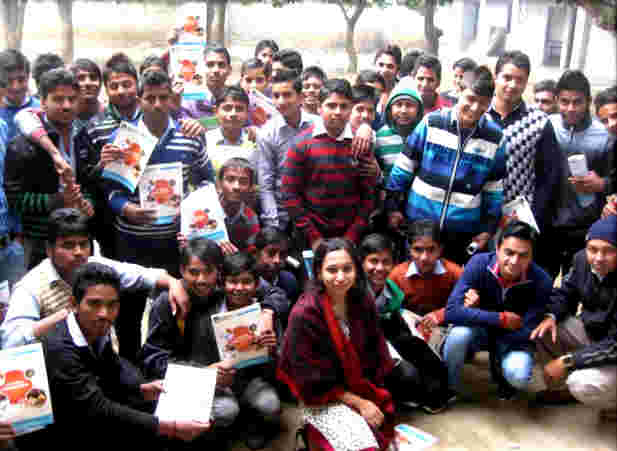 Career counseling in Kasna region by Deepalaya