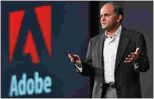 Shantanu Narayen, CEO and President, Adobe Systems Inc