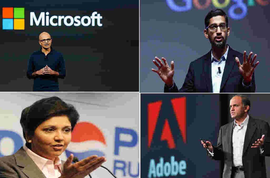 4位印度出生的ceo,擅长外国MBA