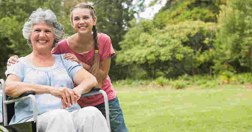 What skills does a disability carer needs?