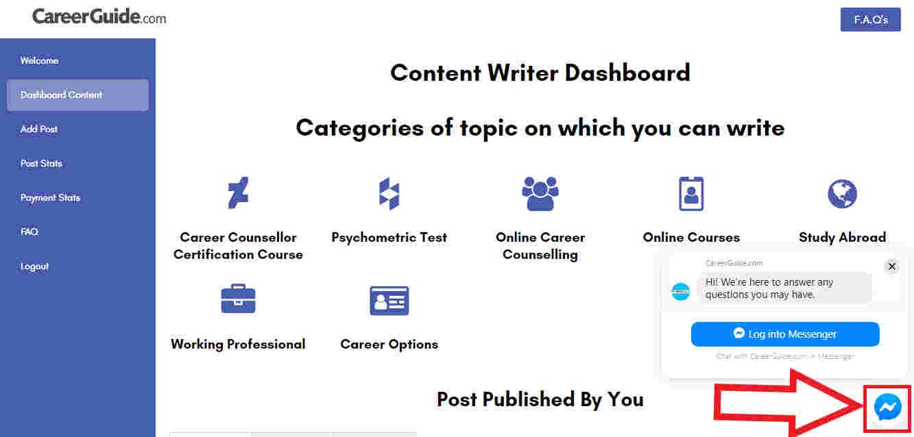 content-writer-dashboard