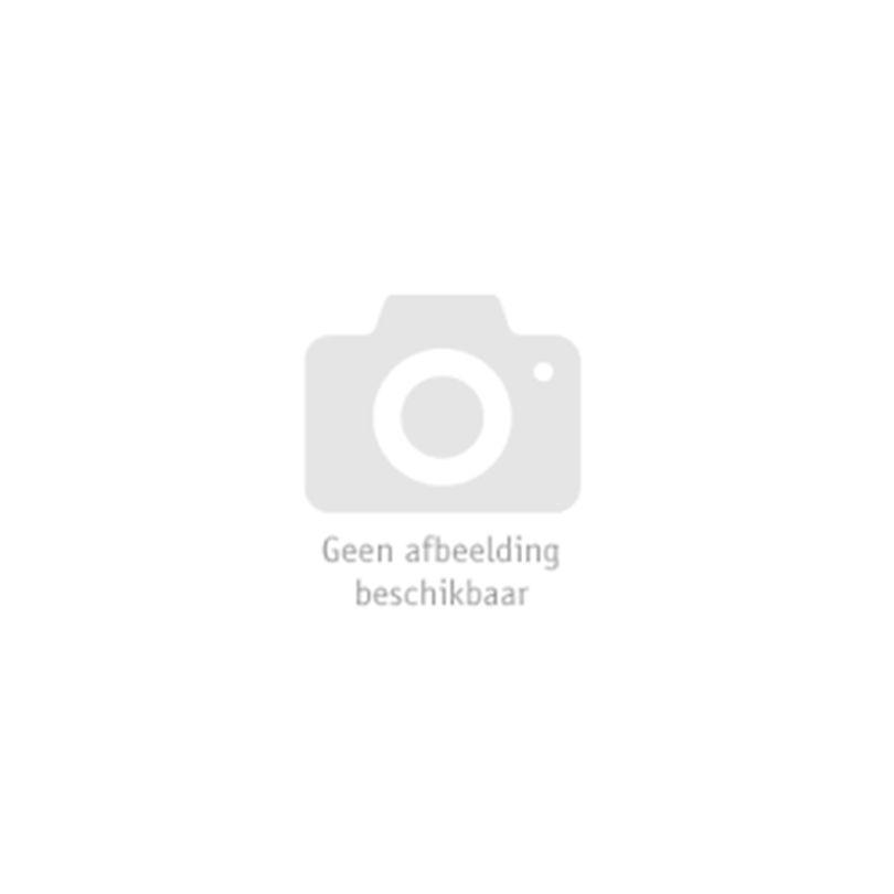 Pruik, Rock Prinses Zwart/Blauw