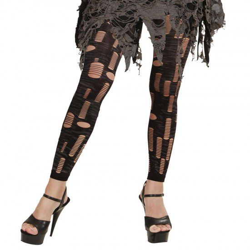 Gescheurde zombie legging