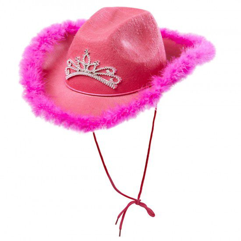 Hoed Cowgirl Roze
