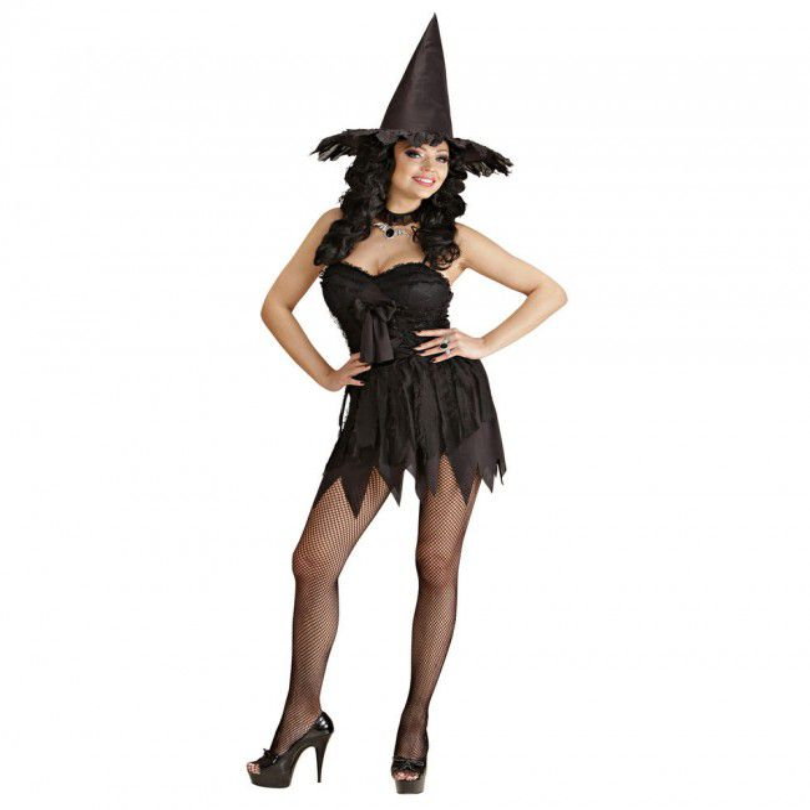 Halloween Kostuum Vrouw.Heks Luxe Kostuum Vrouw