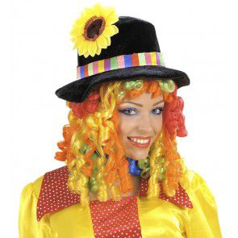 Pruik Clownshoed