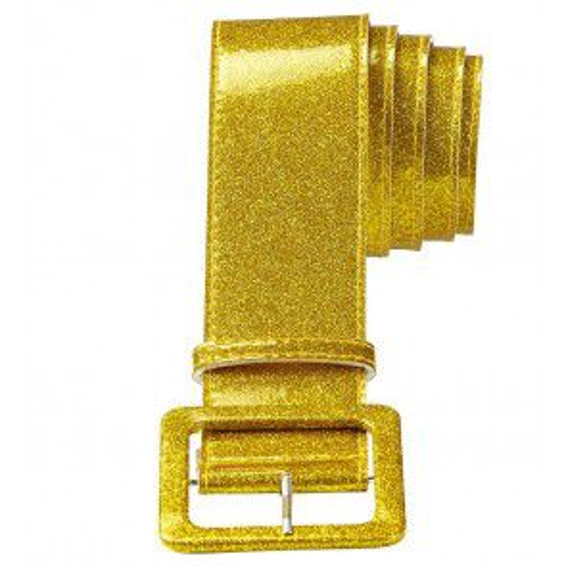 Riem Glitter Goud